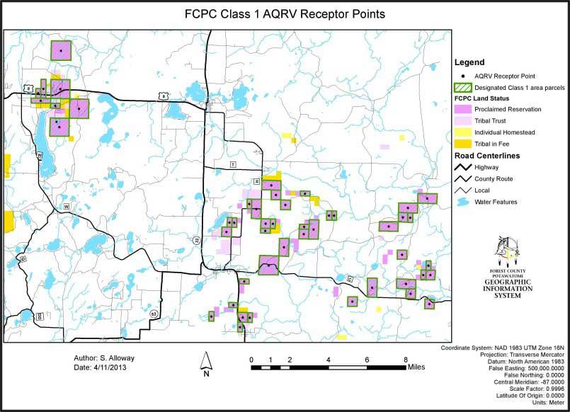FCPC-ClassI-AQRV-receptorpoints-map-e1450892928247