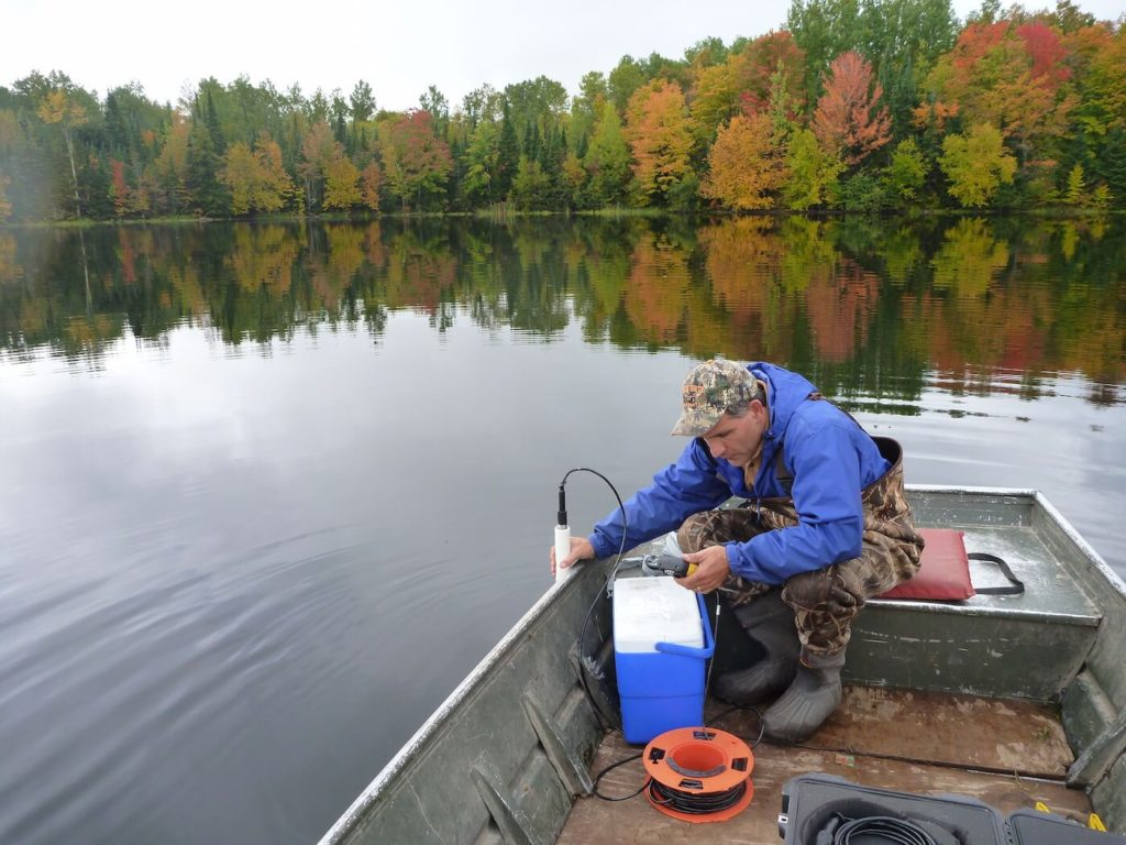 Regularly collecting water quality field measurements and analyzing water samples for chemicals provides the FCP with an excellent understanding of the current condition of the FCP waters and assists in identifying the presence of contaminant sources.