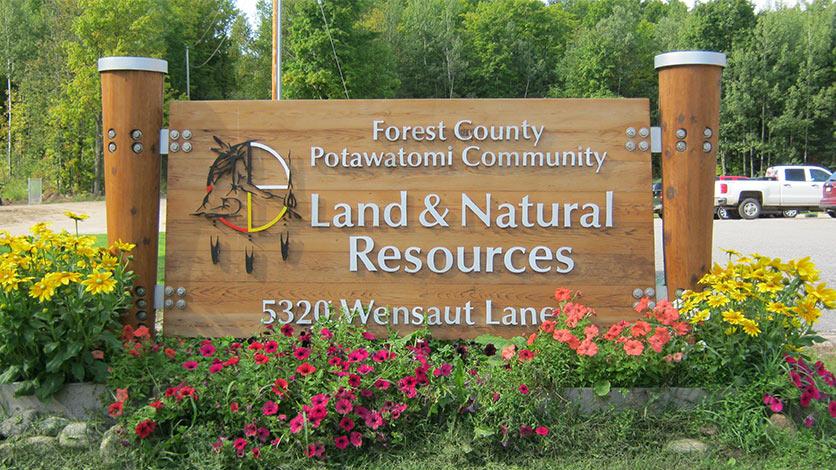 Land & Natural Resources Sign
