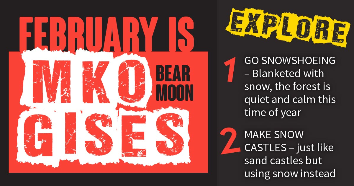 february is mko gises bear moon