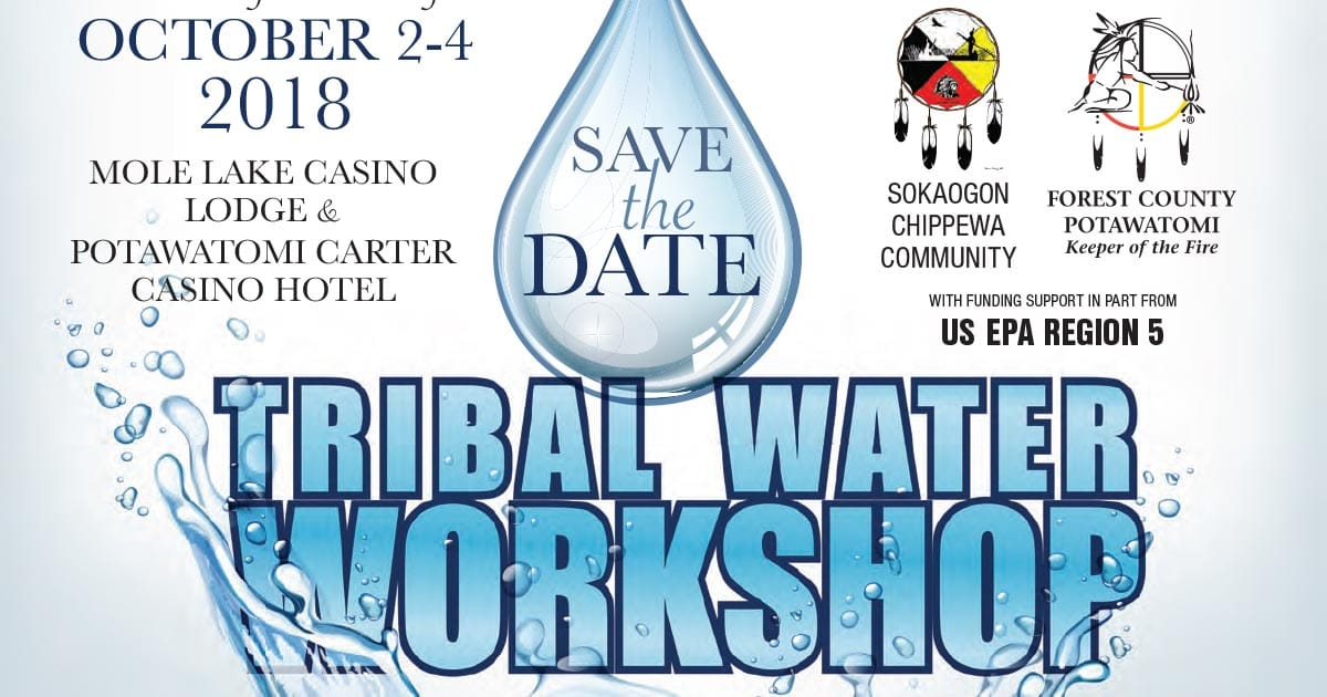 tribal water workshop